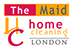 The Maid Home Cleaning Logo
